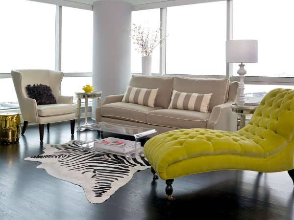 small chaise lounge sofa