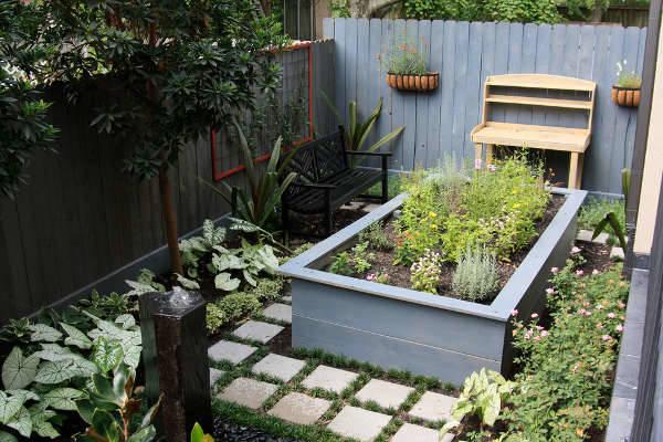 small raised garden idea