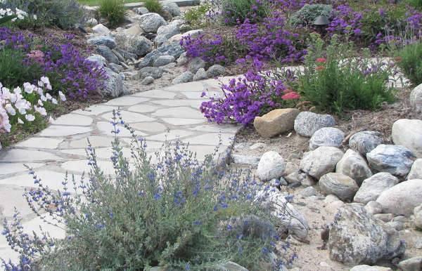 small rock garden idea