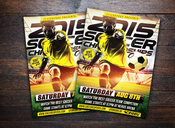 Soccer Championships Sports Flyer