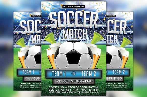 Soccer Match Sports Flyer