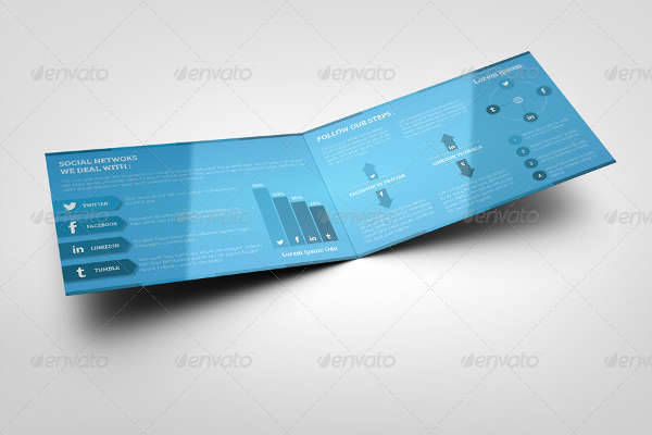 Social Media Marketing Bifold Brochure