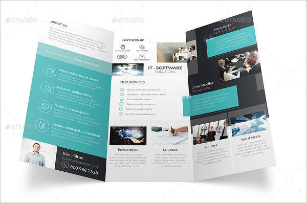 trifold brochure software