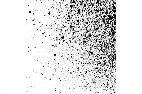 splatter ink paint splatters
