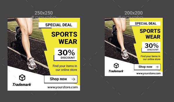 Sports Banner Ad