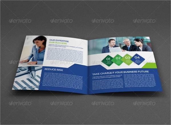 Square Bi-fold Company Brochure