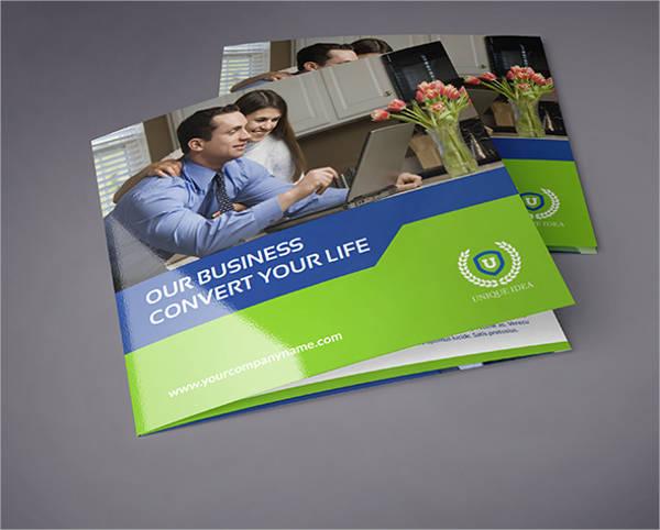 Square Company Tri-Fold Brochure