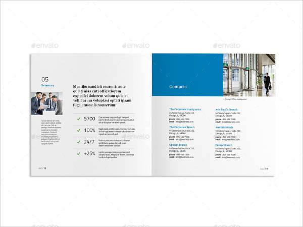 Square Corporate Company Brochure