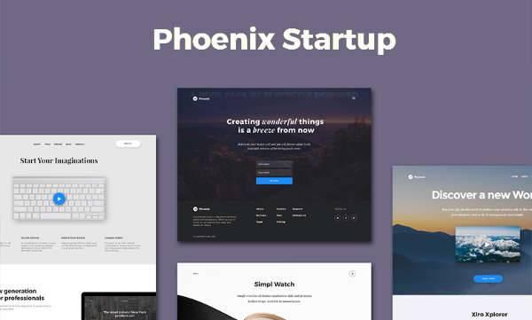 startup html5 ui kit