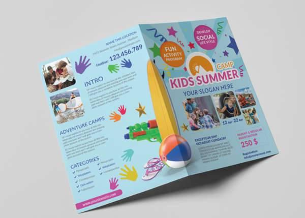 Summer Camp A5 Brochure