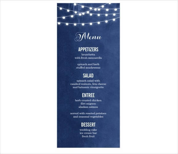summer dinner party menu