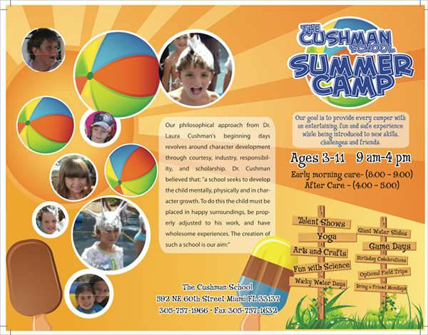 Summer School Trifold Brochure