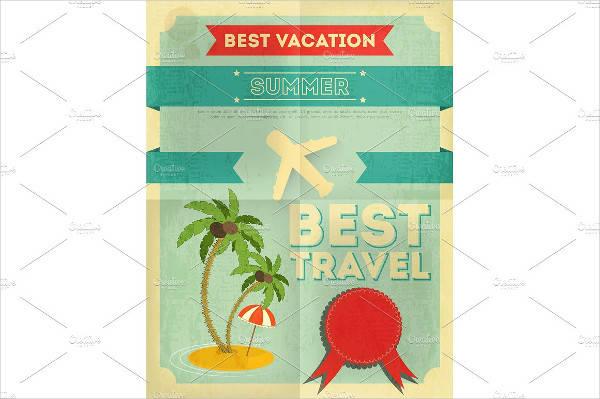 Summer Travel Poster Design