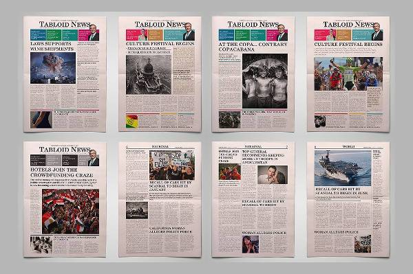 Newspaper Design Templates | Design Trends - Premium Psd, Vector
