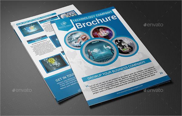 Technology Company Bi-fold Brochure
