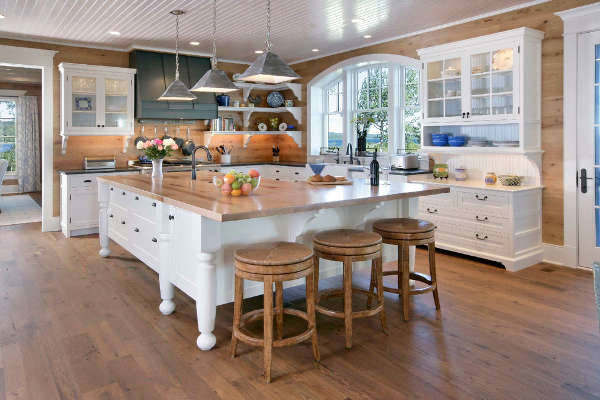 Traditional L Shaped Kitchen Design