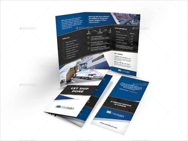 Transportation Company Trifold Brochure