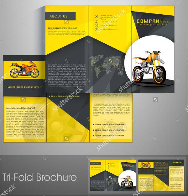 Transportation Trifold Company Brochure