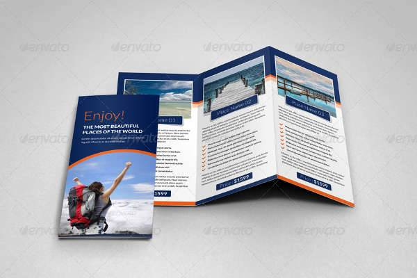 Travel Agency Company Brochure