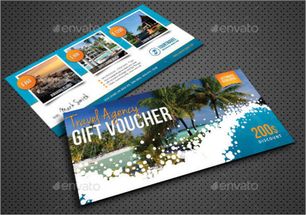 Travel Agency Gift Voucher