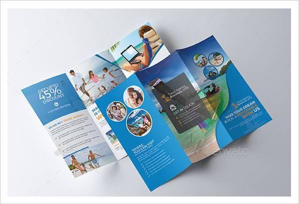 Travel Agency Tri-Fold Brochure