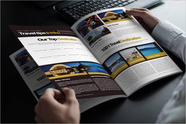 Travel Company A4 Bi Fold Brochure