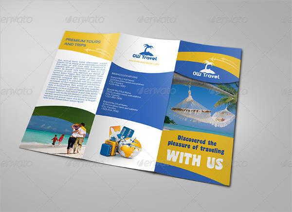 Travel Company Tri-fold Brochure