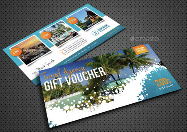 Travel Holiday Gift Voucher