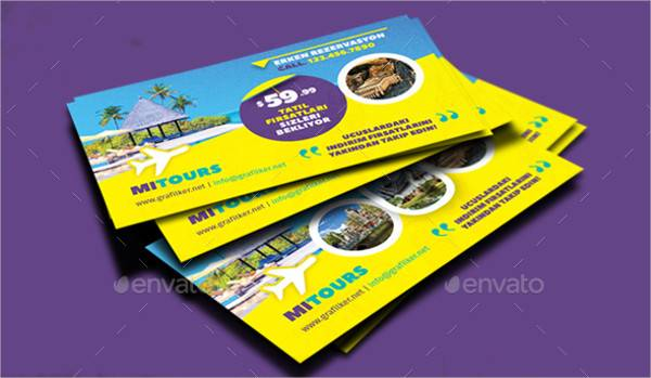 Travel Tours Business Card