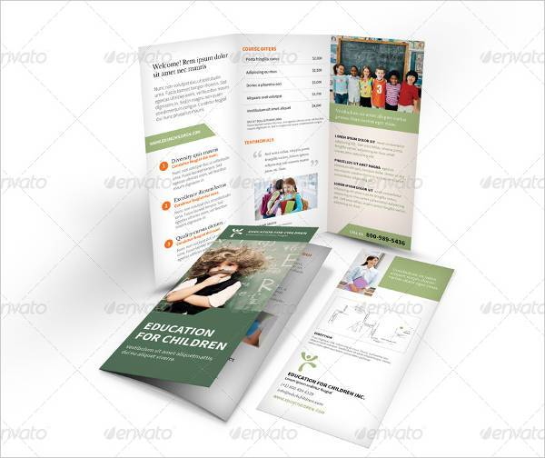 Trifold Education Brochure