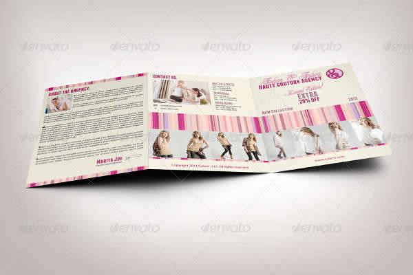 Trifold Fashion Brochure
