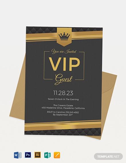 33  Event Invitation Designs - Psd  Word  Ai