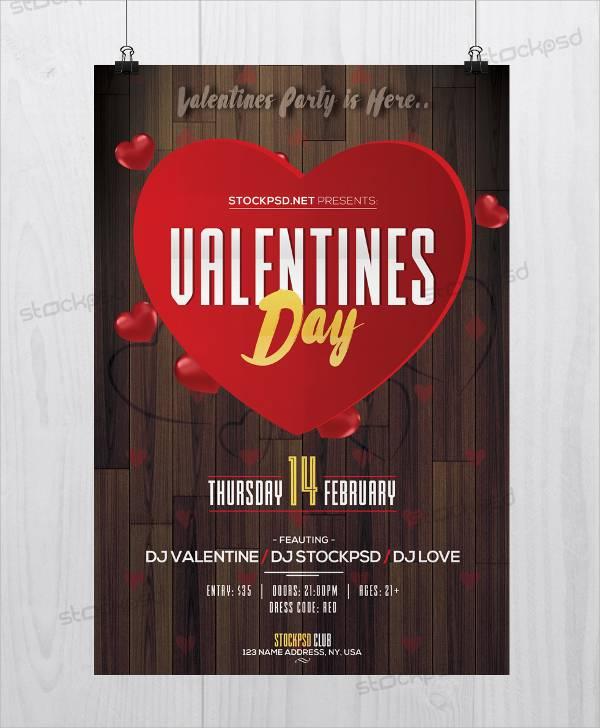 Valentine Day Event Flyer