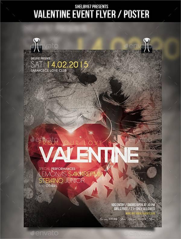 Valentine Event Flyer Poster