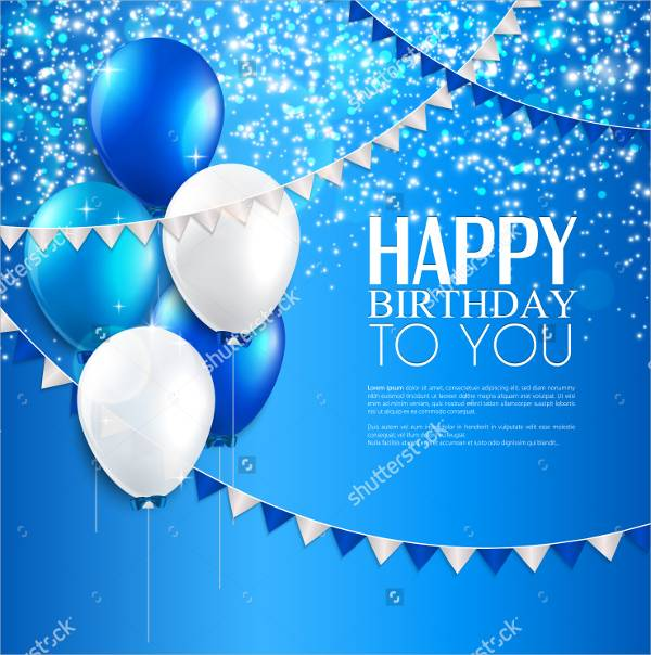 Birthday Card Design – Vector Birthday Cards