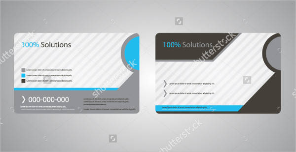 Vector Corporate Business Card