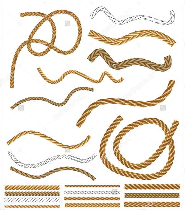 vector rope brushes