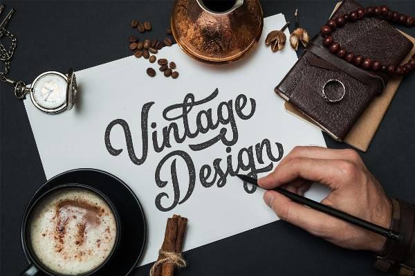 Vintage Calligraphy Cursive Font