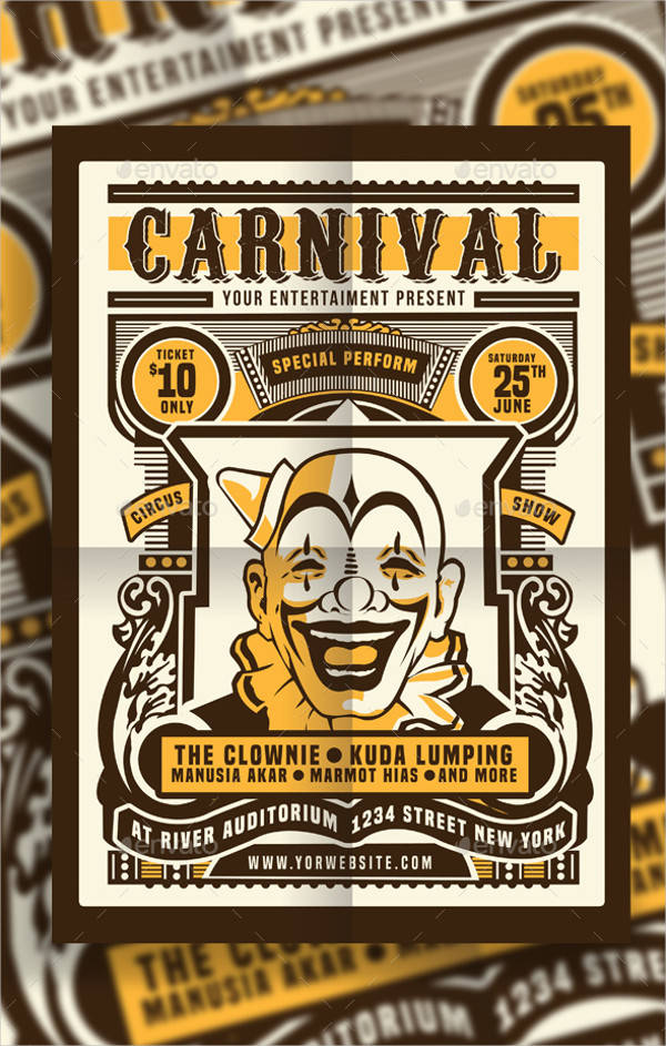 Vintage Carnival Posters