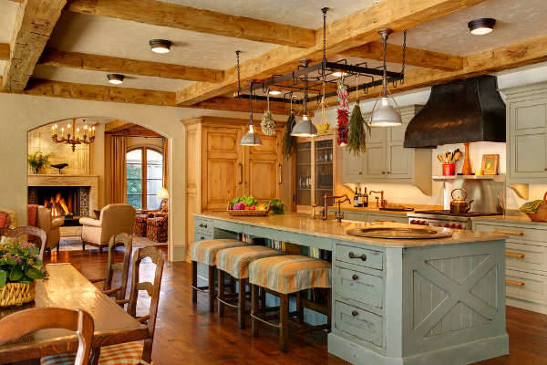 vintage country kitchen design ideas