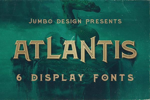 Vintage Grunge Typography Font