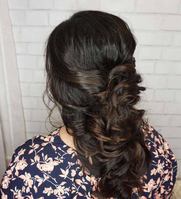 Vintage Half Up Half Down Hairstyle