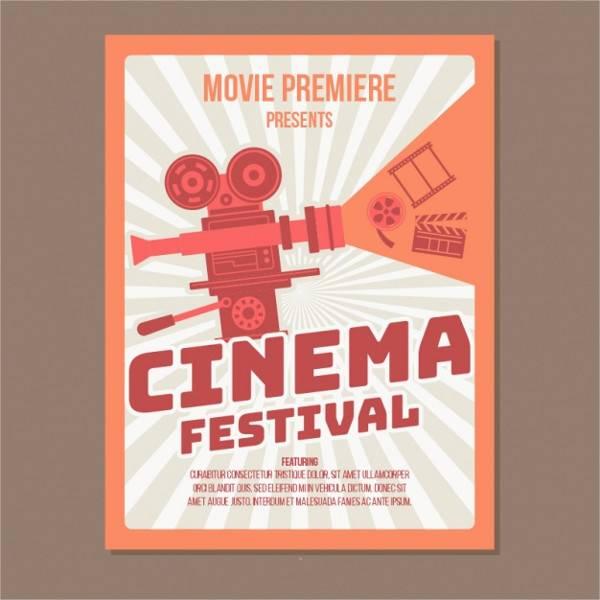 Vintage Movie Festival Poster