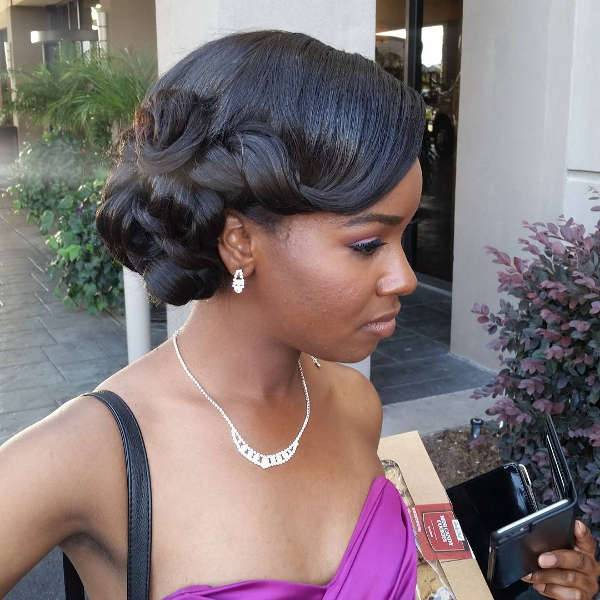 updo styles for black hair updo hairstyles for prom black hair hairstyles 5451