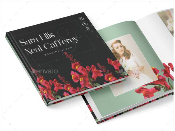 Vintage Wedding Album Design