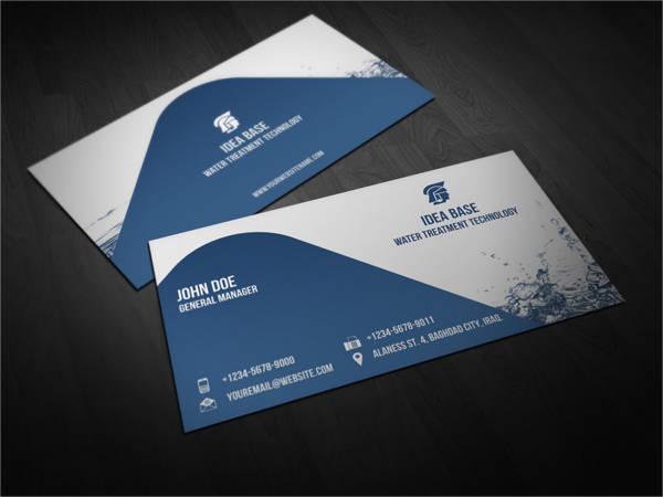 Water Technology Business Card