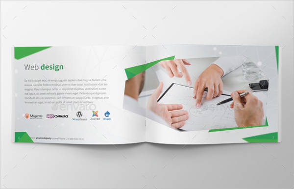 Web Agency A4 Brochure
