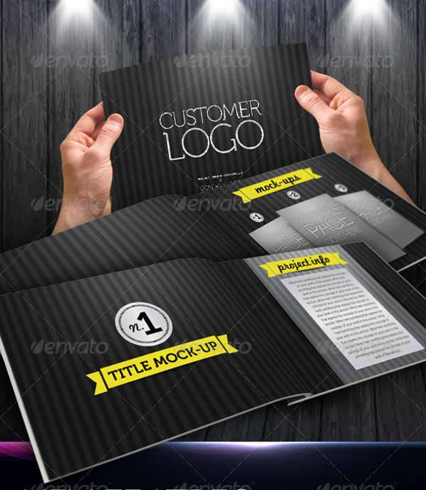 Web Project Portfolio Marketing Brochure Catalog