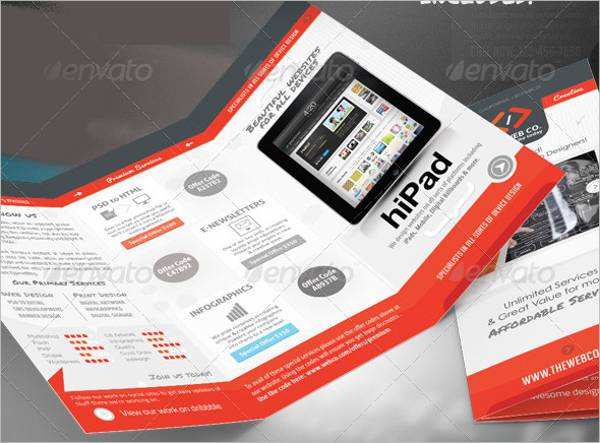 Web Service & Business Brochure