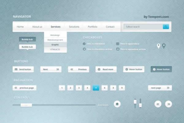 web ui design kit